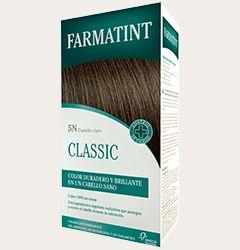 #Tinte #castañoclaro. #Farmatint cubre el 100% de las #canas, aportando vitalidad al #cabello y proporcionando un aspecto sano, un #colorintenso, brillante y duradero.