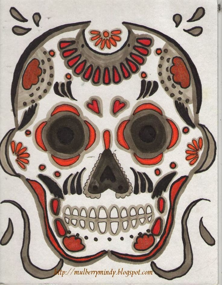 36 best Embroidery Designs images on Pinterest | Sugar skull, Sugar ...