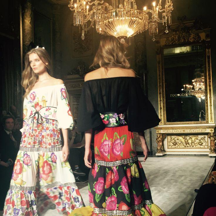 #MFW2015 September Season Spring - Summer 2016 #urbanprod #ontherunway #roccobarocco #fashionshow