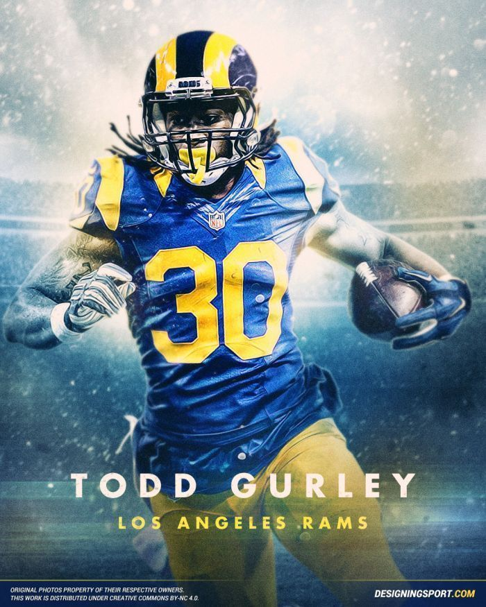 d6edc8792 Todd Gurley Poster  Multiple Sizes  Nfl Football 01A