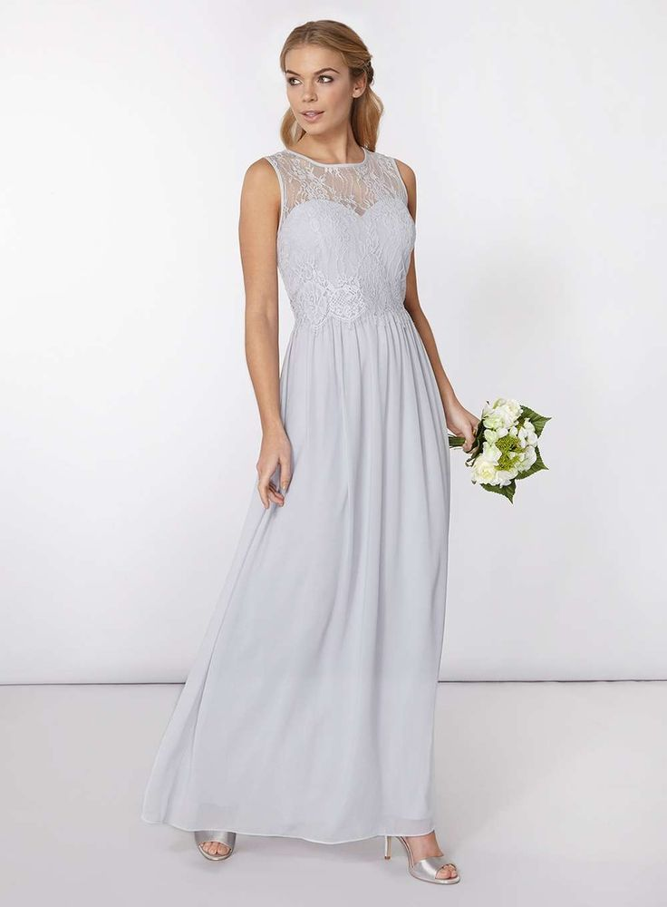 Grey Maxi Dress for Wedding - Plus Size Dresses for Wedding Guests Check more at http://svesty.com/grey-maxi-dress-for-wedding/