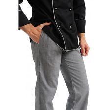 PAGAMENTO ANCHE ALLA CONSEGNA Pantalone Pantaloni Pantalaccio da Lavoro Uomo Chef Cuoco Abbigliamento Abiti
