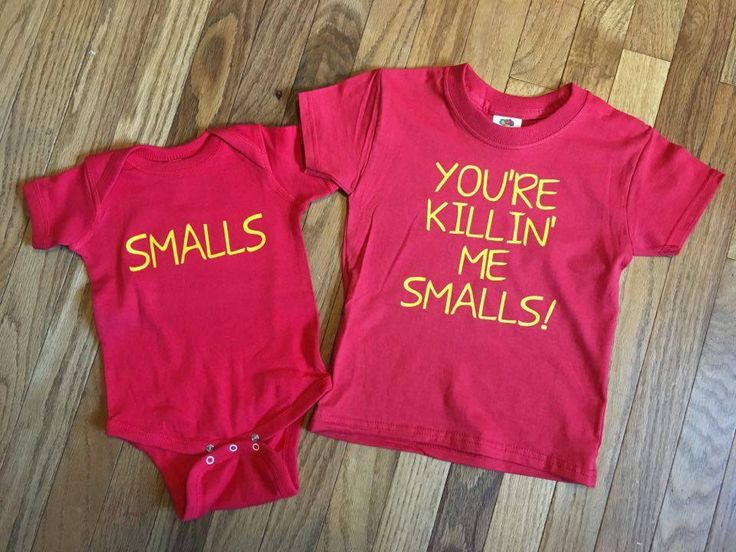 You're Killing Me Smalls Youth T Shirt and One Piece Baby Bodysuit Set, The Sandlot, Movie Quote Photo Prop by LivingWordDesigns16 on Etsy