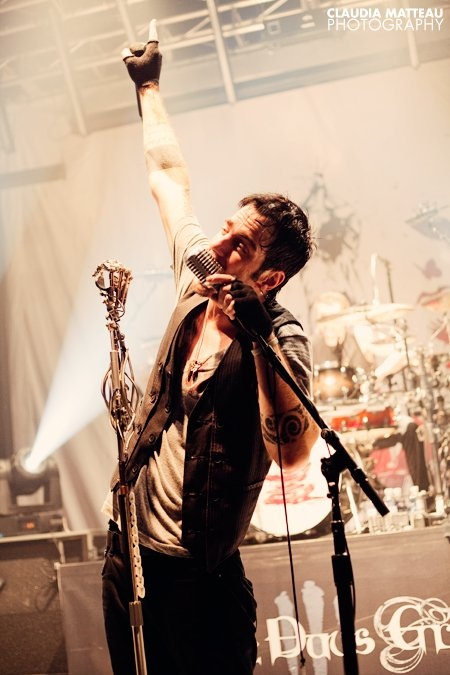 Adam Gontier, the previous lead singer of three days grace. He was the lead singer for 20 years. He is such an inspiration to me because of the raw but true lyrics that he sings about his life. Three days grace forever! <3