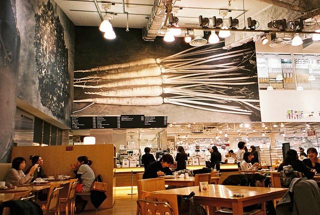 Food court.