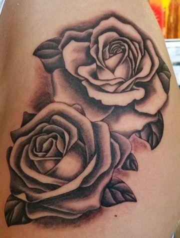 Dibujos De Rosas Para Tatuaje Clasico Tatuajes Pinterest