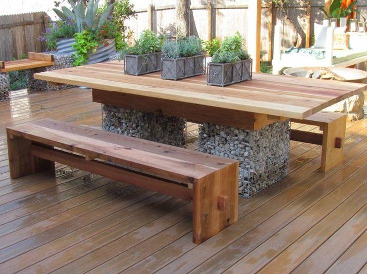 33 best salon de jardin images on Pinterest Benches, Metal - Plan De Maison Originale