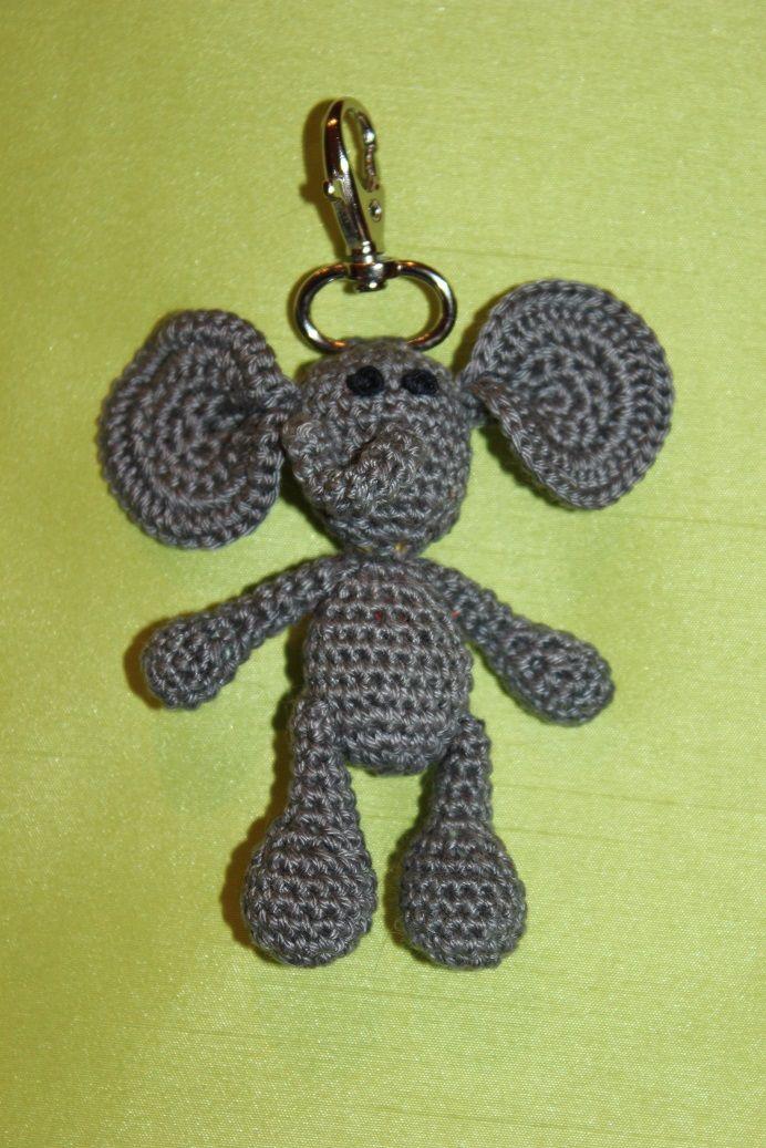 Schlüsselanhänger Elefanti <3