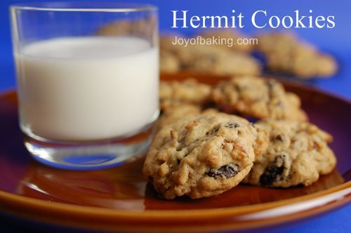 "boyfriend: ""keep that one...pinned? or whatever you do..."" hermit cookie recipe"