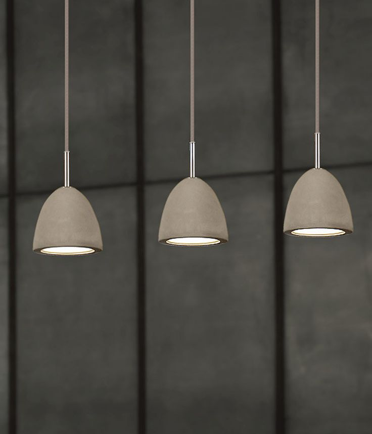 For a contemporary and stylish designer lighting option, Viore Design's concrete pendant range will add warmth, texture and natural beauty to any home.