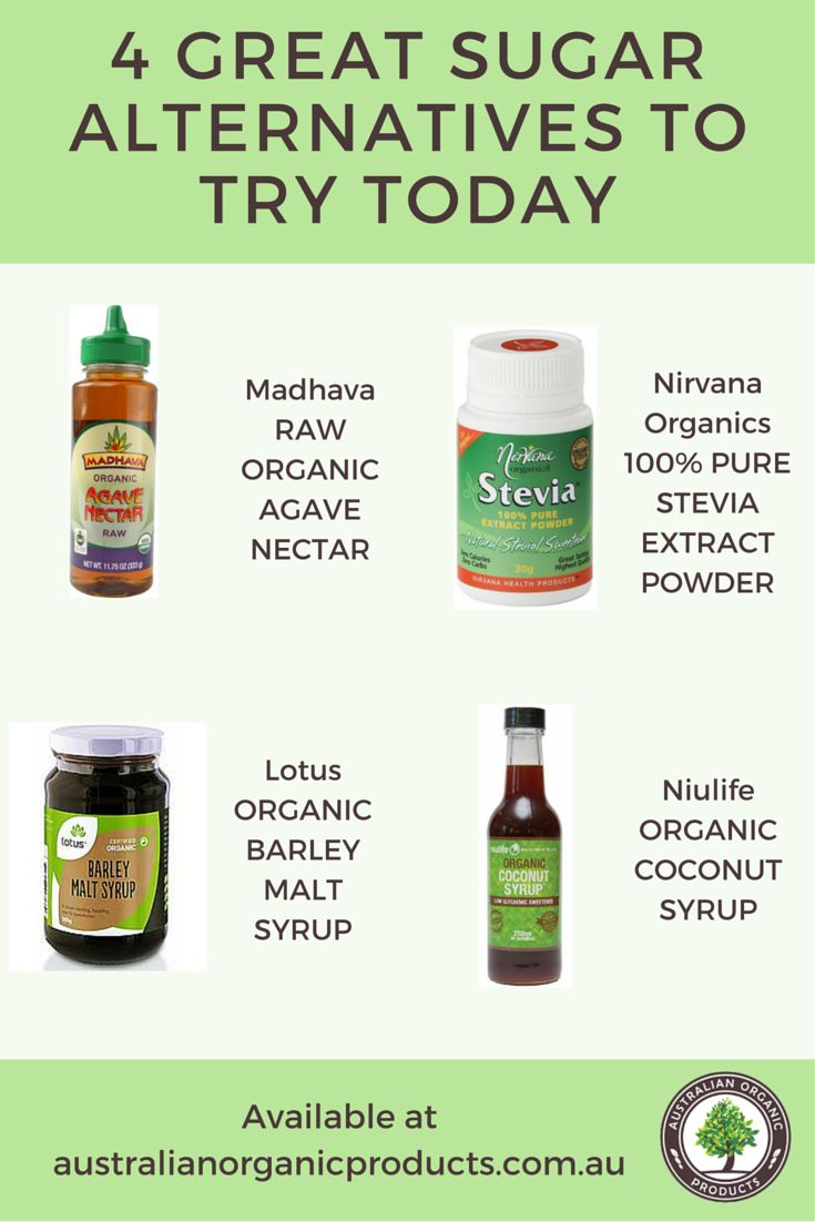 Trying to cut back on sugar but have a sweet tooth? Try these great organic and natural alternatives, all available in our store!