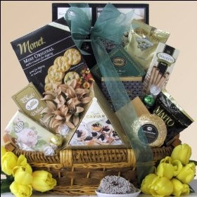 In Loving Memory: Sympathy Gift Basket $64.99