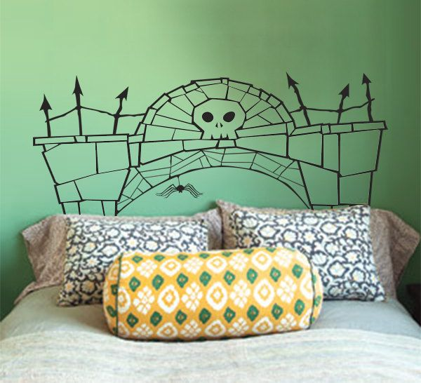 Headboard Decal  Nightmare Before Christmas by TheSomberRaven, $55.00
