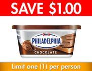 Save! #Kraft #coupons - Philadelphia Chocolate Cream Cheese Product.