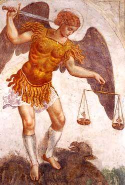 L'Arcangelo Michele e i pianeti interiori