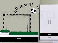 ¡Márcate un gol en tu propio cuarto!
