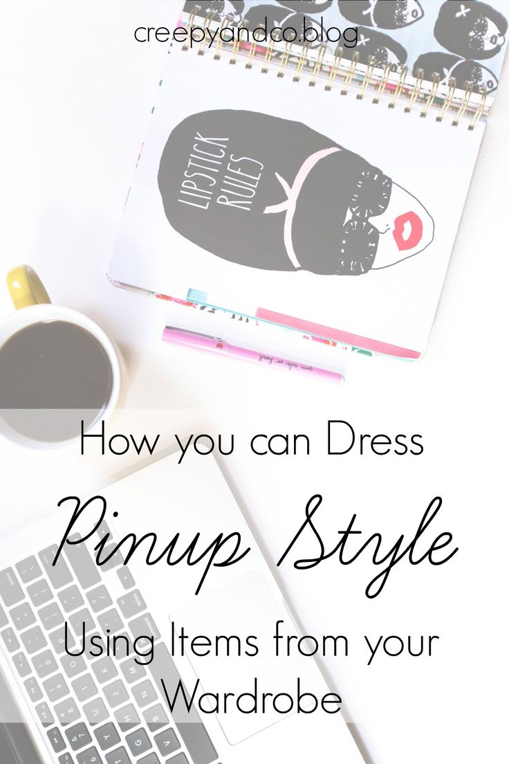 Read how you can dress pinup style using items from your very own wardrobe.  Watch the video by Miss Cherry Dollface.