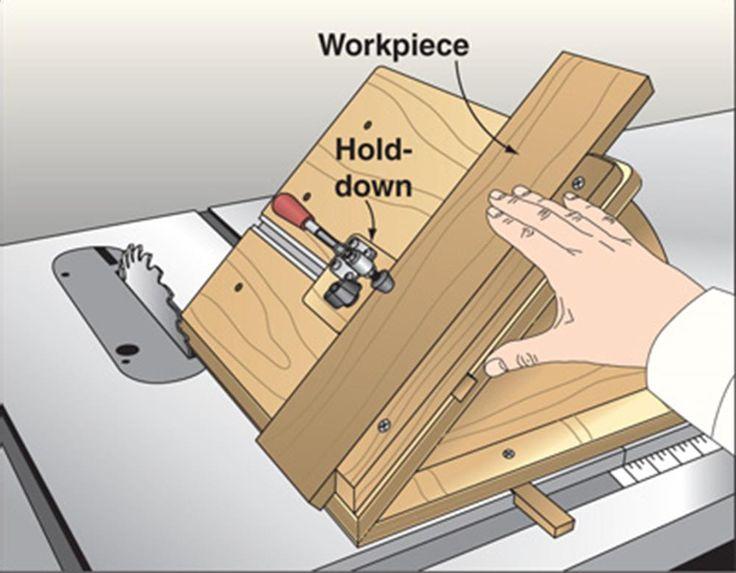 No-Tilt Bevel Sled Woodworking Plan from WOOD Magazine