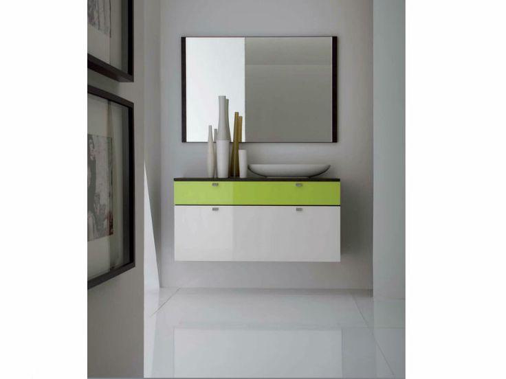 Wittenbreder Multi Color UNA Schuhschrank + Spiegel Klappschrank günstig online kaufen
