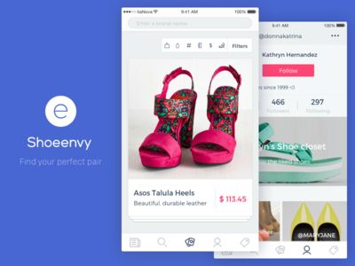 Shoeenvy E-commerce App