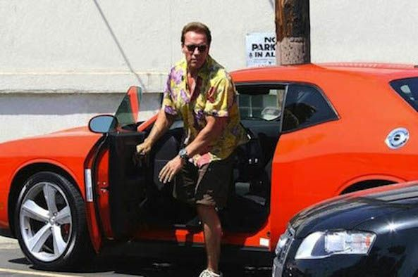 Arnold Schwarzenegger S Car Collection Large And In Charge Http Ow Ly Uulsi Boldride Com