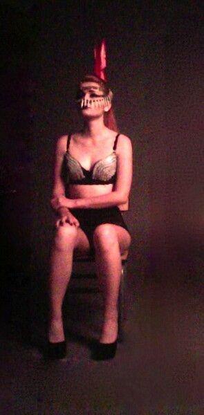 Workshop de moda   Tema: Circus  Locacion: univeridad cesde Medellin Colombia  Modelo Paula Pelaez