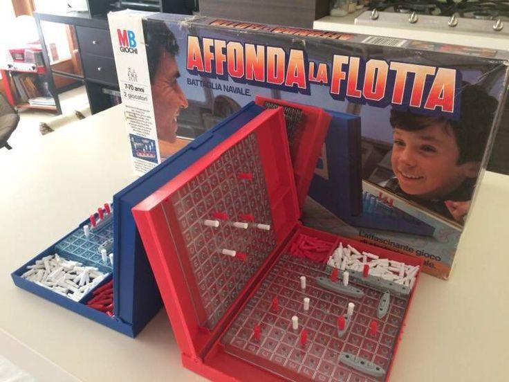 affonda flotta anni 80 gioco in scatola - Cerca con Google