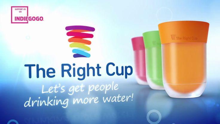 Veel water drinken is van levensbelang, echter je wordt er wel flauw van. #TheRightCup is de oplossing, je drinkt gewoon water, maar wel in je favoriete smaak!!! https://youtu.be/L8525PFrYa0