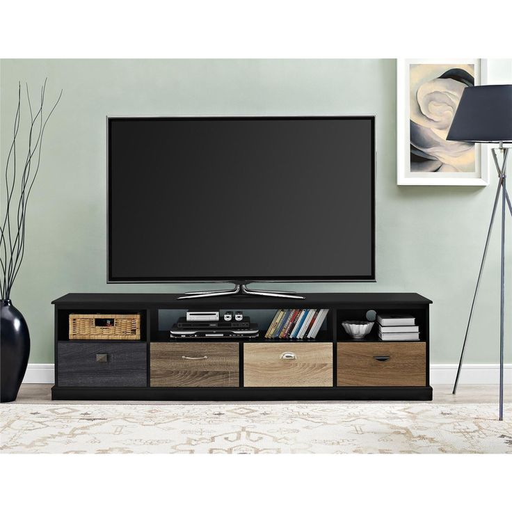 1000 ideas about tv consoles on pinterest tv stands for Living room with 65 inch tv