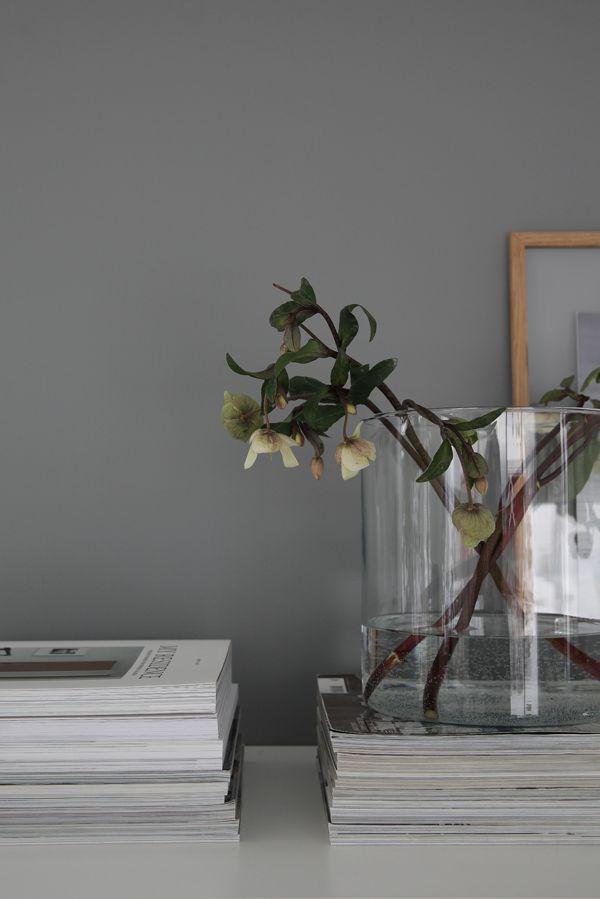 Har dere sett! En mørk grå vegg i det ellers så hvite hjemmet. Nesten grønnlig grå om man legger godviljen til. En impulsiv maleøkt i helgen (etter å hatt lyst til å endre noe lenge) resulterte i en mørkere vegg … Les videre