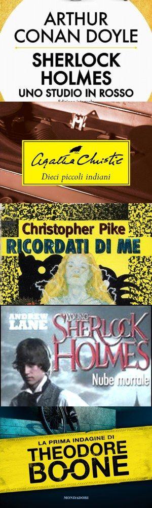 Cinque bei libri gialli per ragazzi