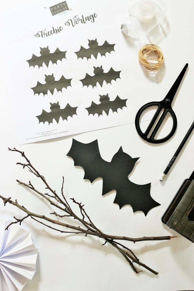 Die besten 25+ Halloween girlande Ideen auf Pinterest Druckbare - wohnung ideen selber machen