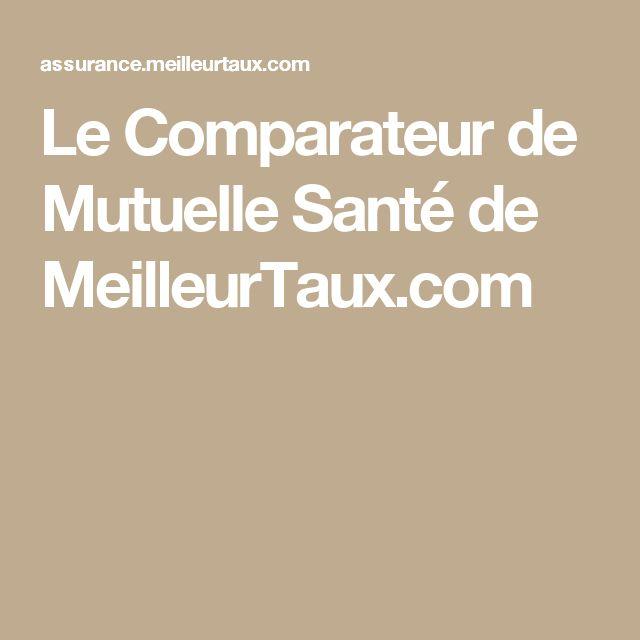 Le Comparateur de Mutuelle Santé de MeilleurTaux.com