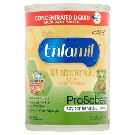 Enfamil Prosobee soy baby formula - 13 fl oz Concentrate (Pack of 12)