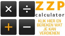 ZZP CALCULATOR! Op zoek naar een indicatie van de verschillen tussen een loondienstverband en een zelfstandig ondernemer als Maat bij TFG? Check de ZZP calculator!