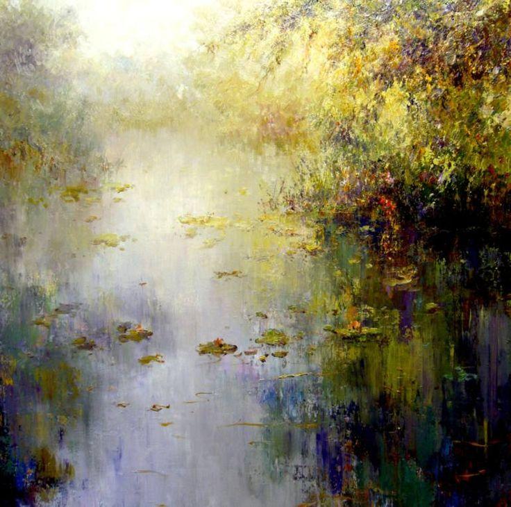 "Saatchi Art Artist Roman Frances; Painting, ""NIEBLA"" #art"