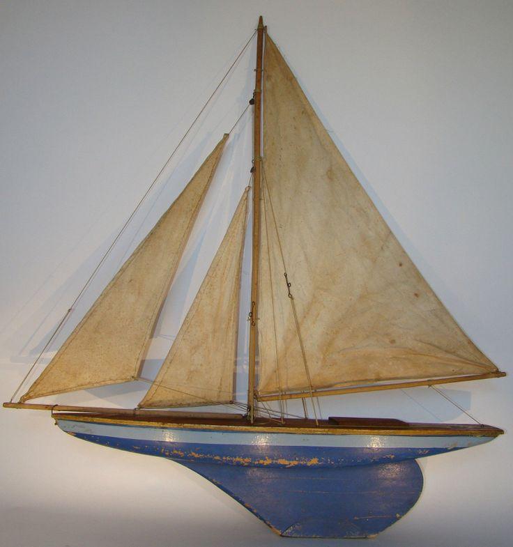36 best images about ship models on pinterest folk art sailing ships and sailing - Voilier de bassin ancien nanterre ...