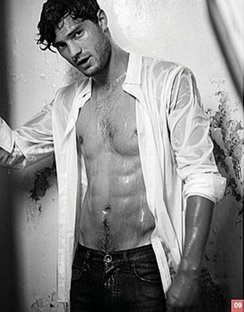 Jamie Dornan. Oh my under water