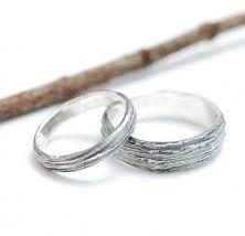 Обручальные кольца деревянные