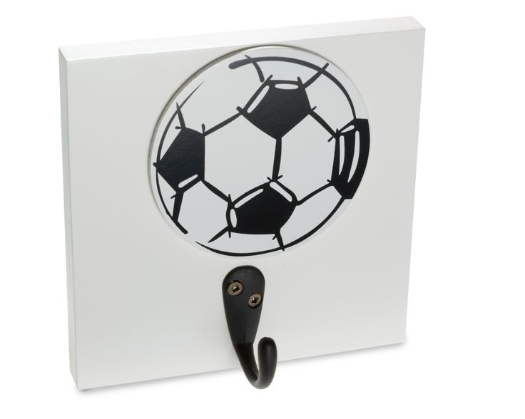 Soccer Ball Wall Hook Organize Nursery And Kids Rooms With Decor Homeworks