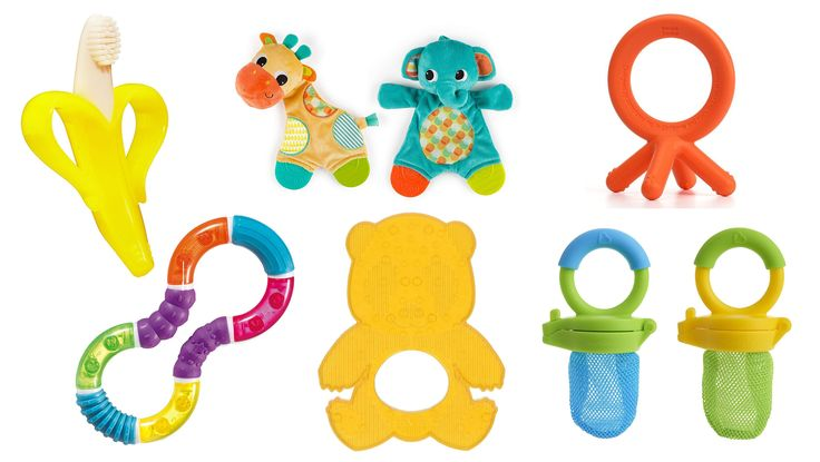 Below, I've put together a list of the top 20 best baby teething toys, from training toothbrushes to rattles to teething necklaces. There are even some that you can add frozen fruit to and let baby gum to soothe teething pain.