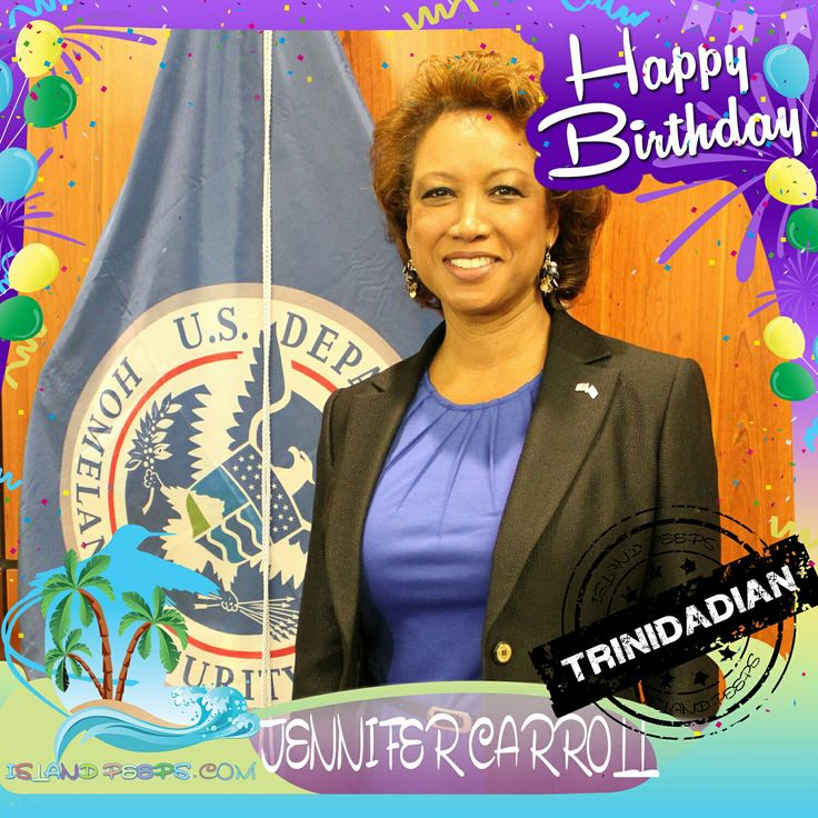 Happy Birthday Jennifer Carroll!!! Trinidadian-born American politician who was the 18th Lieutenant Governor of the U.S. state of Florida!!! Today we celebrate you!!! #JenniferCarroll #islandpeeps #islandpeepsbirthdays #trinidad #florida