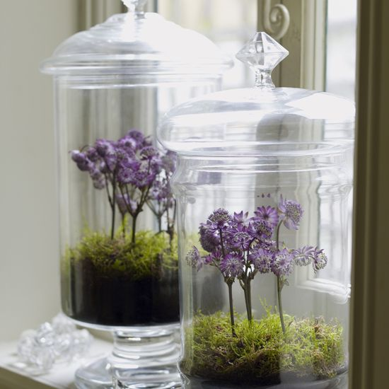 Jam jars, click top pots and more - check out these brilliant ways to display your Kilner jars #kaleidoscope #kilner #inspo