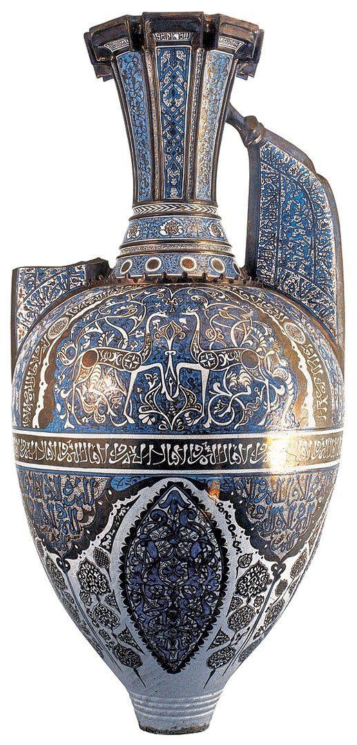 Vaso las Gacelas de la Alhambra. Reproducción. 145x70cm