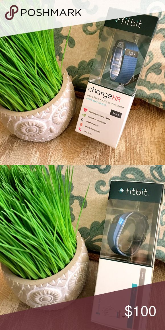 Fitbit Charge HR heart rate + activity wristband Still in it's original box. Purchased from Best Buy. Never been used. fitbit Other
