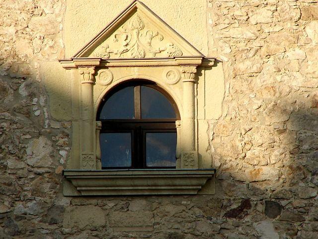 Sárospatak, a vár egyik ablaka.