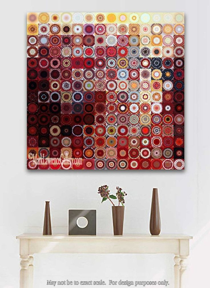 Circles and Squares #11. Modern Fine Art