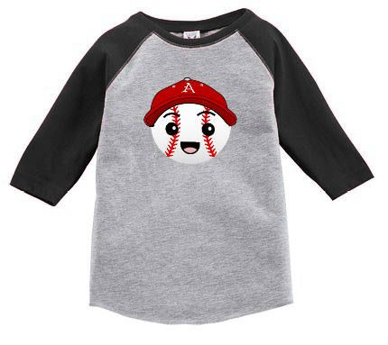 Razorback Baseball Raglan for Toddler by IsaacOriginalDesigns on Etsy
