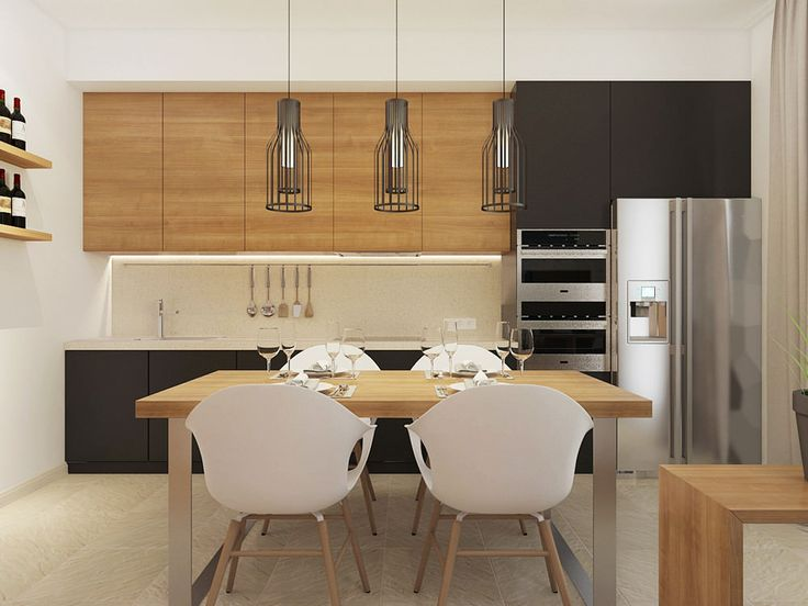 кухня-столовая в проекте студии