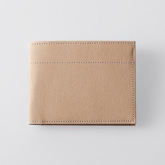 Minimalist Super-Thin Washable Paper Bi-Fold Wallet by SIDONIEYANG